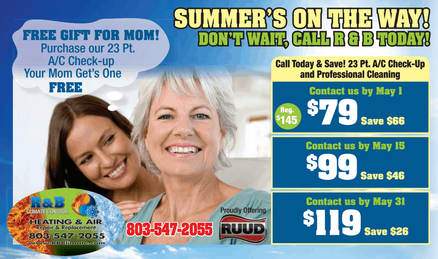 23 point A/C Checkup (buy one get one free for Mom for Mother's Day