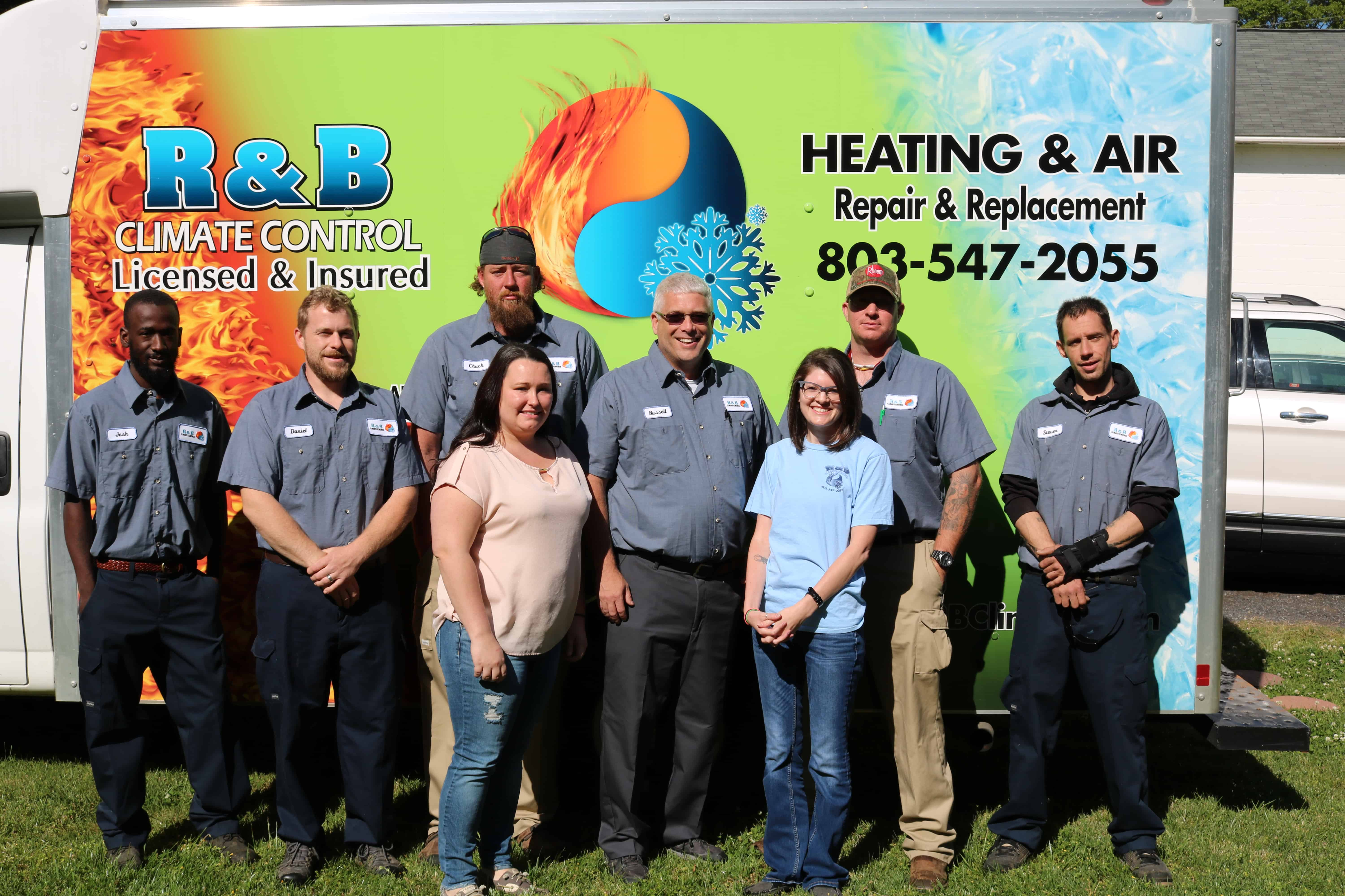 R & B Climate Install & Services Team