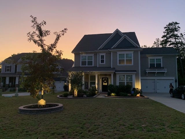 Outdoor Landscape lighting in Rock Hill, Fort Mill and Charlotte
