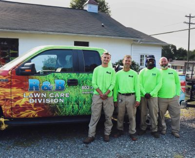 Professional and friendly team at R & B Lawn Care in Fort Mill and Rock Hill